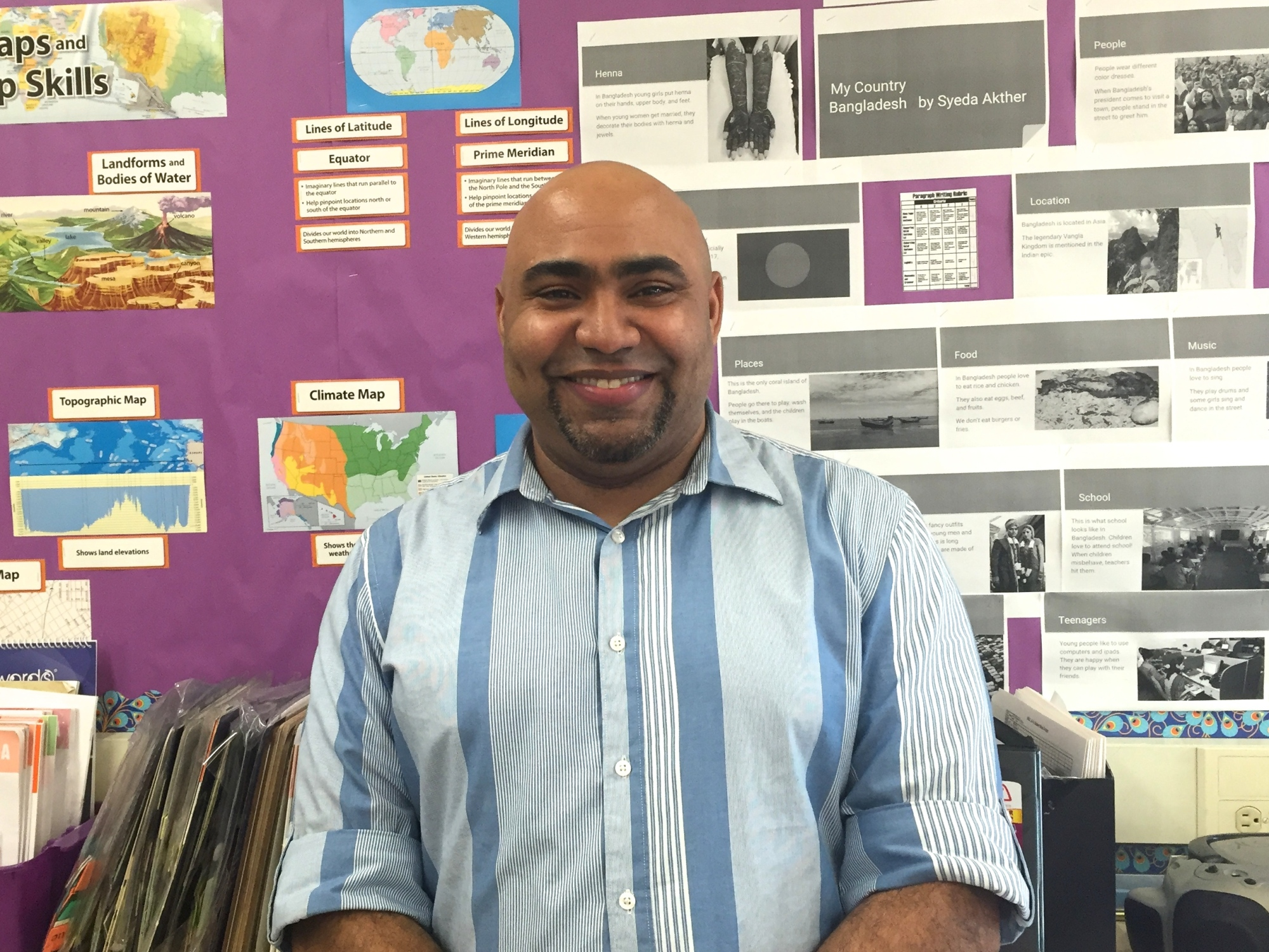 Mr. Vasquez, Teacher, Math Urban Science Academy March 6, 2016