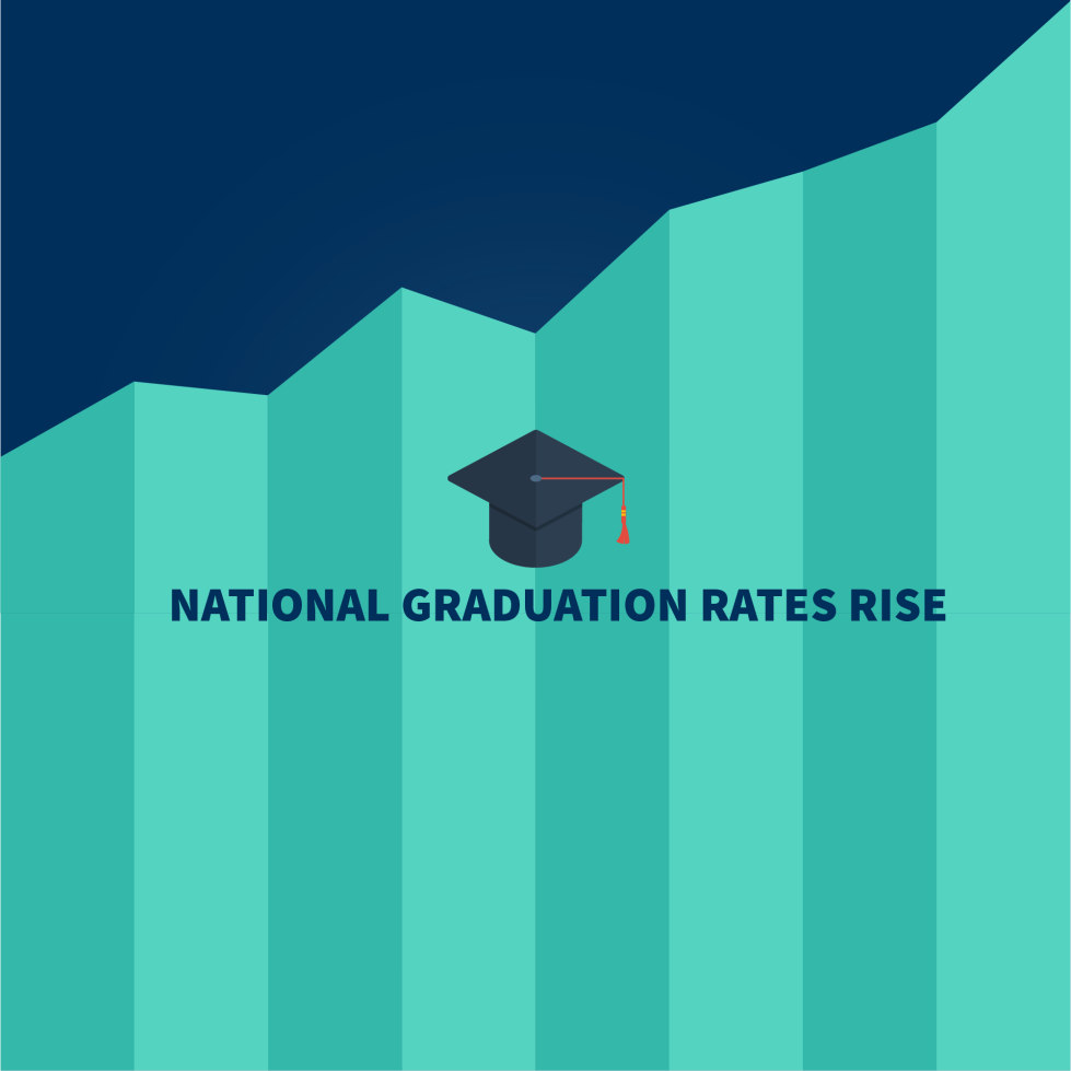 National graduation rates rise